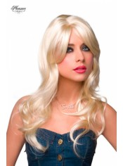 Perruque blonde platine Jessie