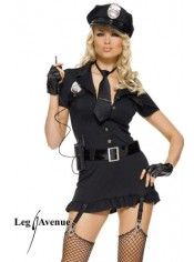 Costume 6 pièces sexy Police