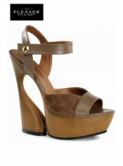 Sandales compensées Swan