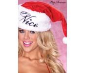 Bonnet de Noël réversible