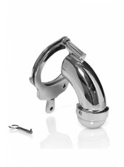 Chastity Cage with Cuff Closed