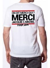 Tee-shirt Jacquie & Michel spécial Feria