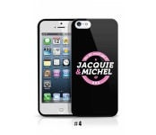 Coque iPhone 3 - Jacquie et Michel