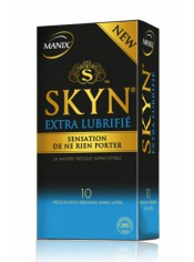 Préservatifs MANIX Skyn extra lubrifié x10