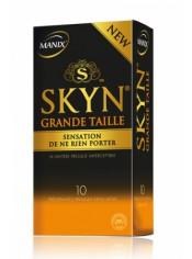Préservatifs MANIX Skyn grande taille x10