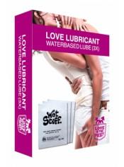 Doses de lubrifiant Love Lubricant  x3