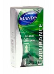 Préservatifs MANIX endurance x12